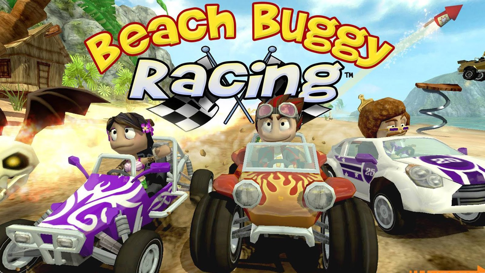 beach buggy racing apk mod download android