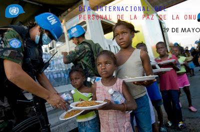 El 29 de mayo se celebra el día internacional del personal de paz de la ONU