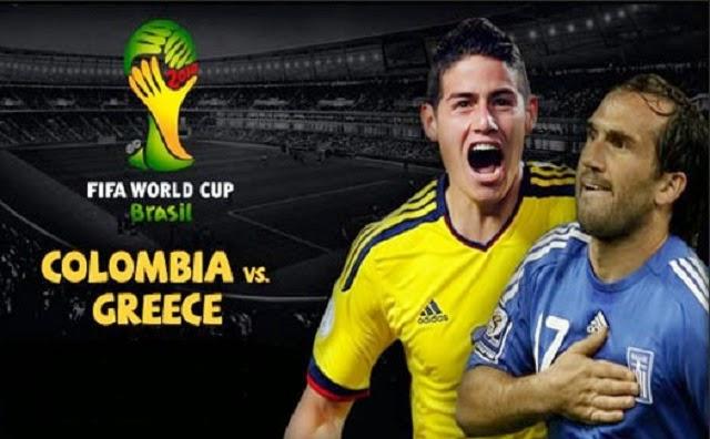 Prediksi Skor Kolombia vs Yunani 14 Juni 2014 Piala Dunia