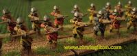 Feudal crossbowmen