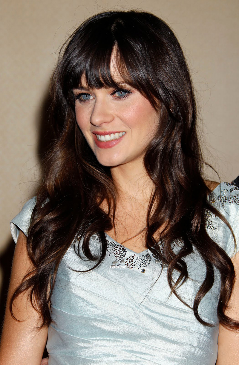 Fresh Look Celebrity Zooey Deschanel Hairstyles 61