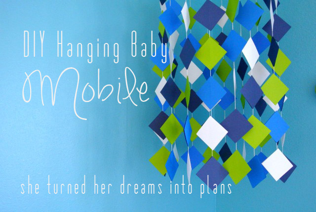 DIY Hanging Baby Mobile