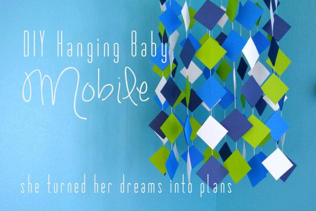 DIY Hanging Baby Mobile