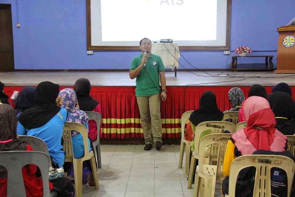 Ceramah di Kem Peneraju Tunas Geliga 2014