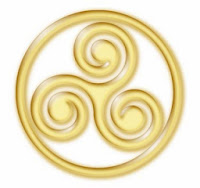 El triskel es un símbolo de la cultura celta convertido en amuleto