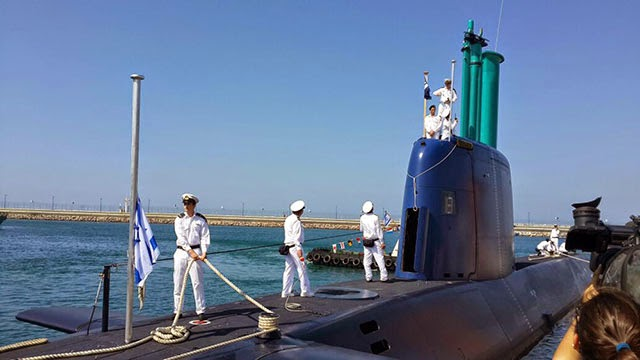 Israel terima kapal selam dari Jerman