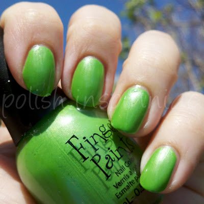FingerPaints Groovy Green