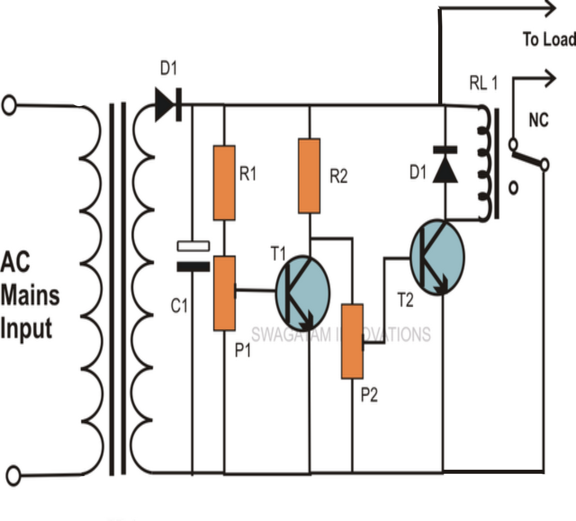 DC Motor Protector Circuit Over Voltage Under Voltage Over - 12v low voltage protection relay