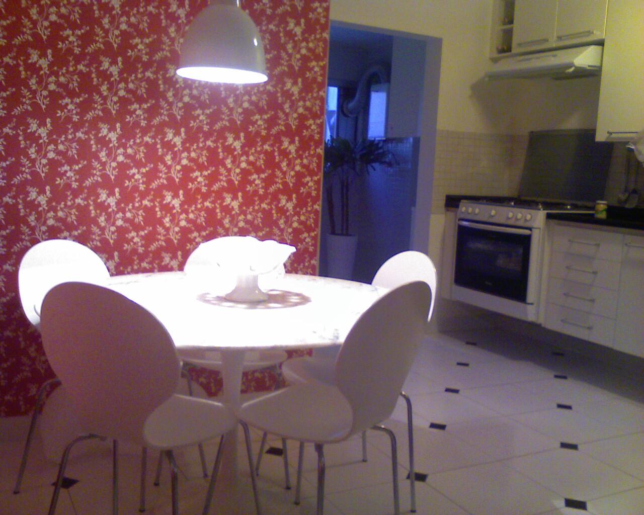 ARQUITETURA & CONSULTORIA: Papel de parede na cozinha !!!Pq não #8E3D4A 1280 1024