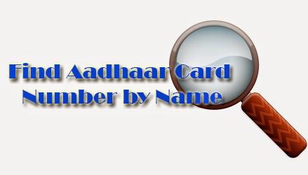 Find Aadhaar Card Number by Name