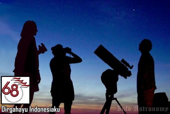Dirgahayu 68 tahun, Inilah Astronomi di Indonesia