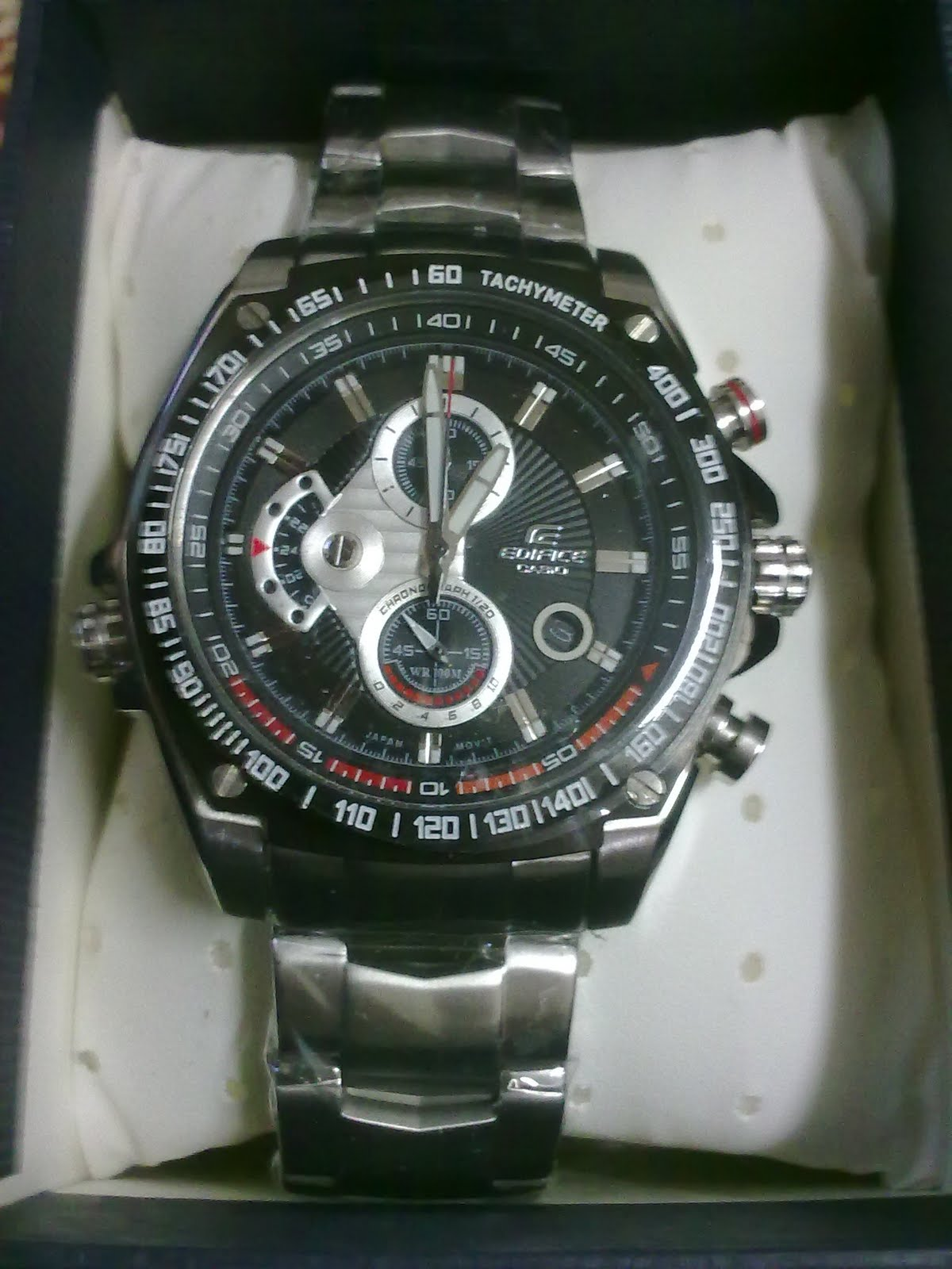 Uying You Can Count On Mehappy Safe B Casio Edifice Ef 543d 1av Silver 100m Wr Chronograph