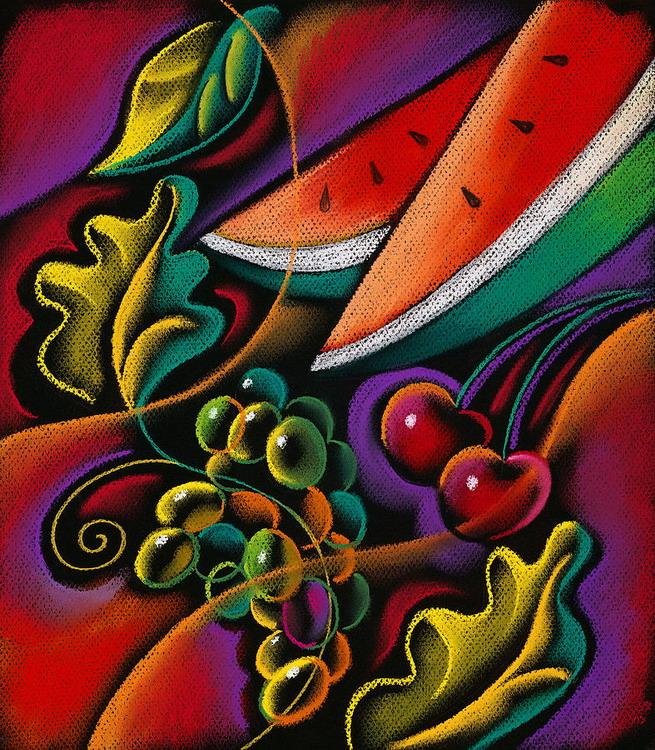 Cuadros modernos pinturas y dibujos bodegones coloridos for Cuadros coloridos modernos
