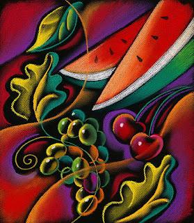 Bodegones Coloridos Modernos Frutas