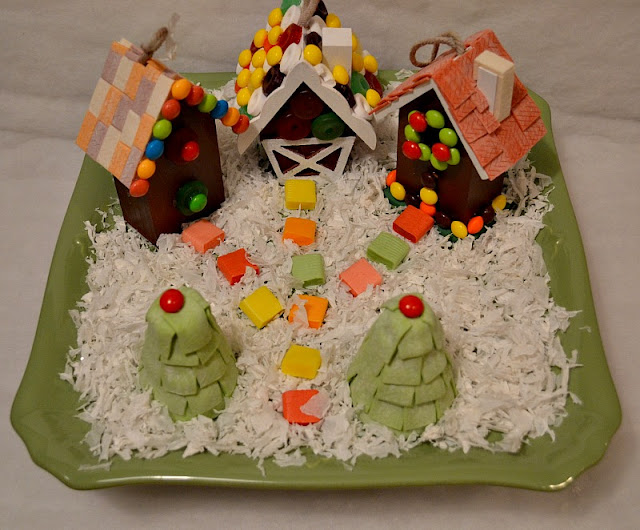 Wrigley gingerbread candy house 2