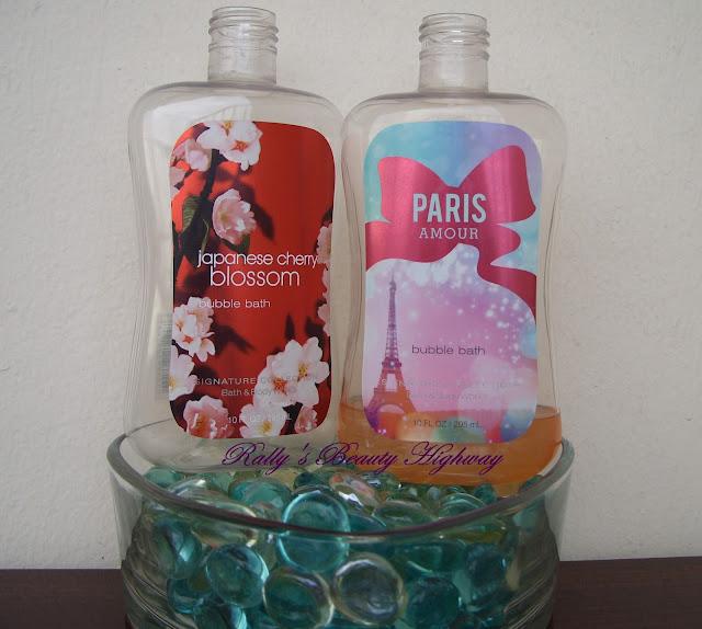 Bath and Body Works, body care, bubble bath, cosmetics