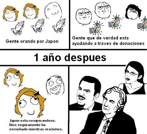 Dios y japon memes