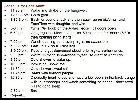 Lamb Of God Tour Schedule