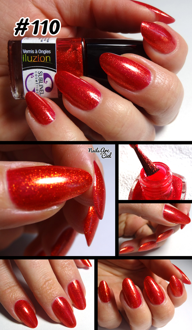 Vernis Ocibel Sublinel iluzion Rouge or #110