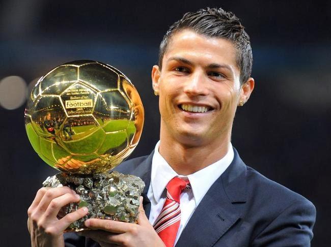 Cristiano Ronaldo 2008 Cristiano Ronaldo Wins Ballon