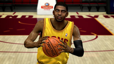 NBA 2K14 Kyrie Irving Realistic Cyberface Mod