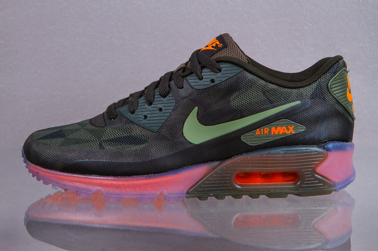 MW Shift: Nike Air Max 90 Ice QS Black/ Cool Grey & Anthracite ...