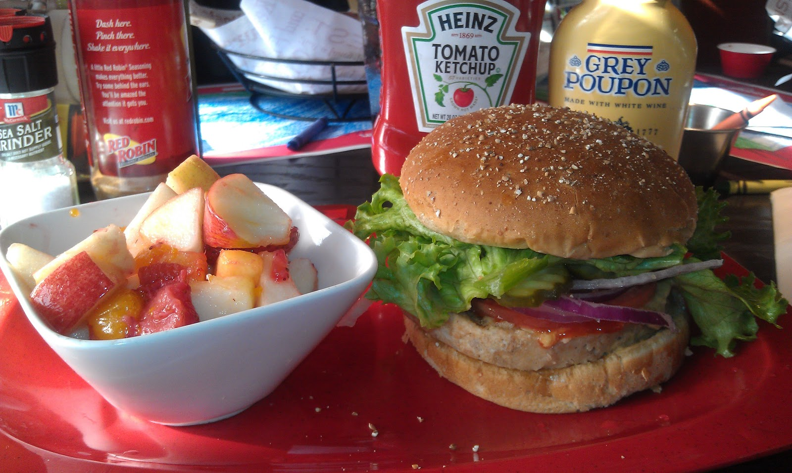 secrets of a vegan: the secret of eating out: red robin
