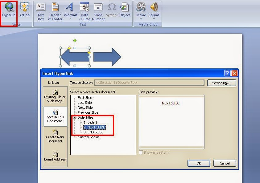 Cara Membuat Hyperlink Pada Ms.Office Power Point