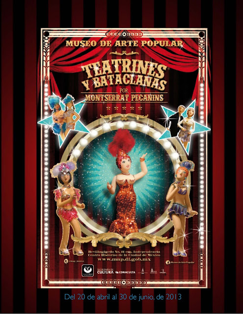 Teatrines y Bataclanas de Montserrat Pecanins en el Museo de Arte Popular