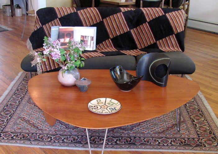 ISAMU NOGUCHI RUDDER COFFEE TABLE Red Hook Antique Center - Noguchi rudder table