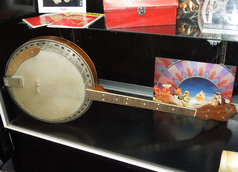 Kermit banjo Muppets prop
