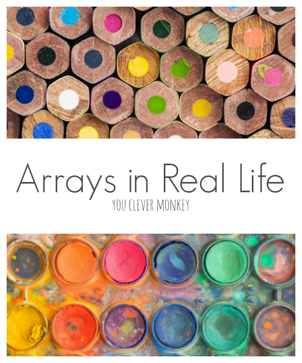 Arrays In Real Life on First School Years Maths