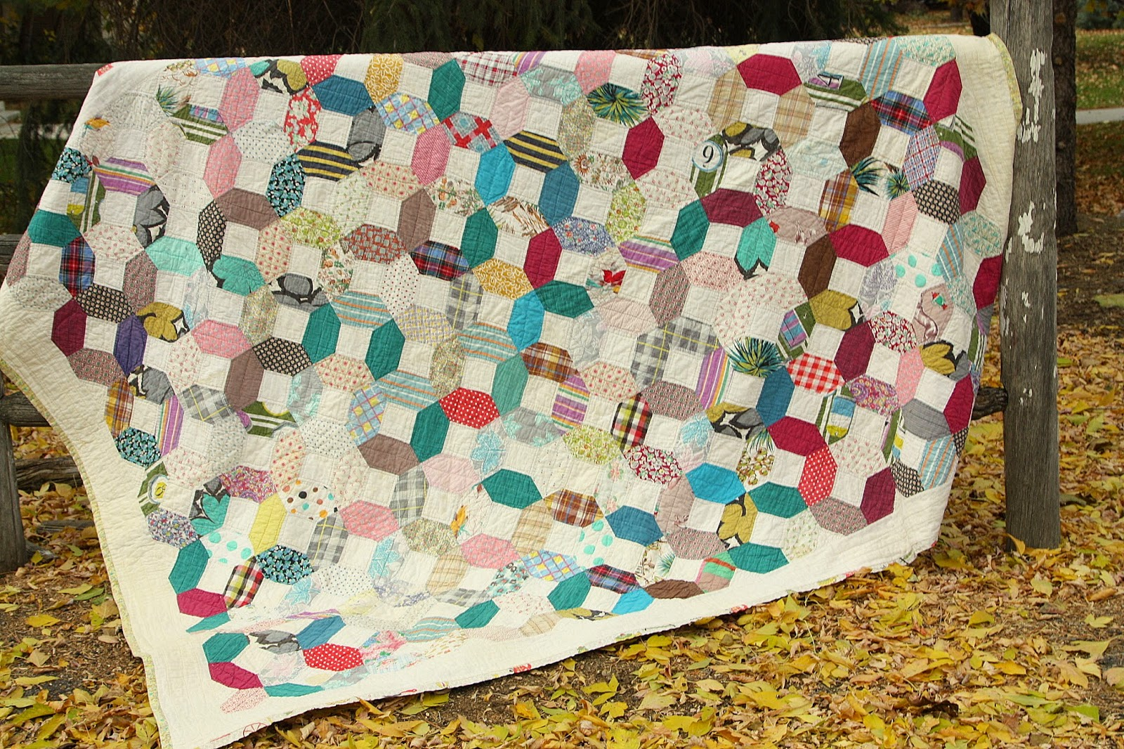 Vintage quilt gratitude diary of a quilter a quilt blog for What to do with an old quilt
