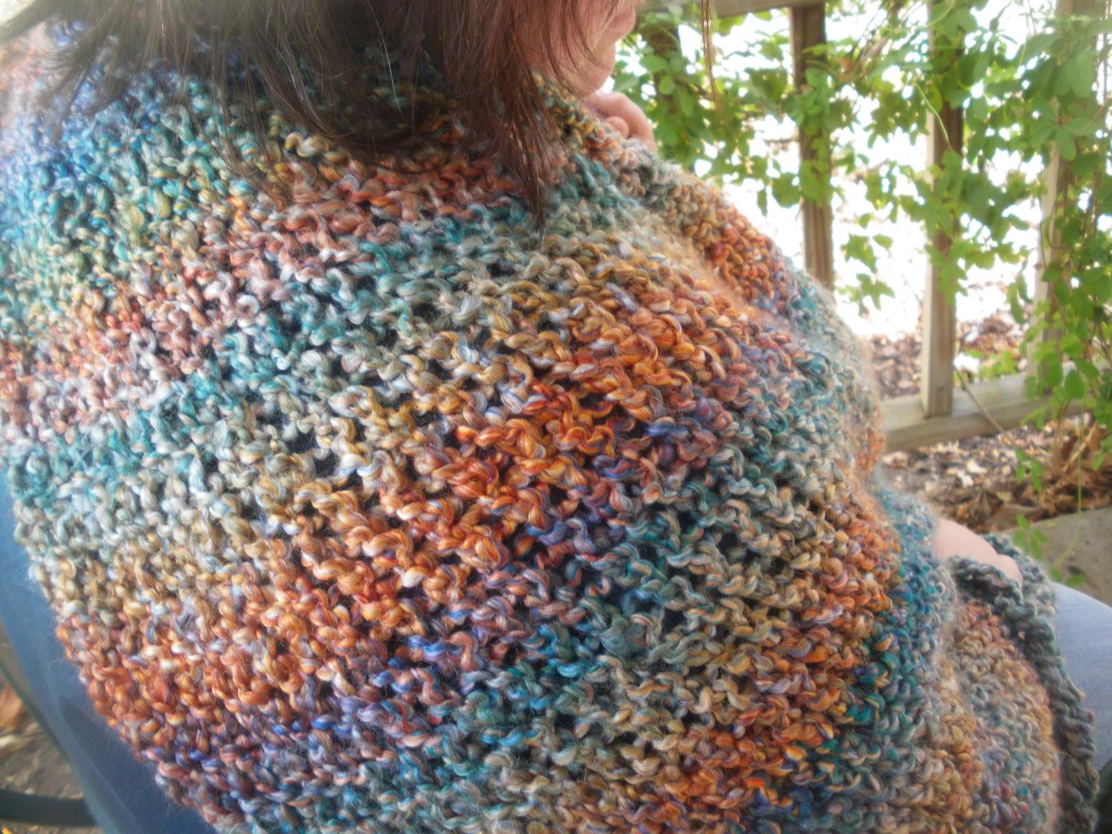 Elliott Crafty Creations: Mosaic Monday: Loom Knitting Prayer Shawls