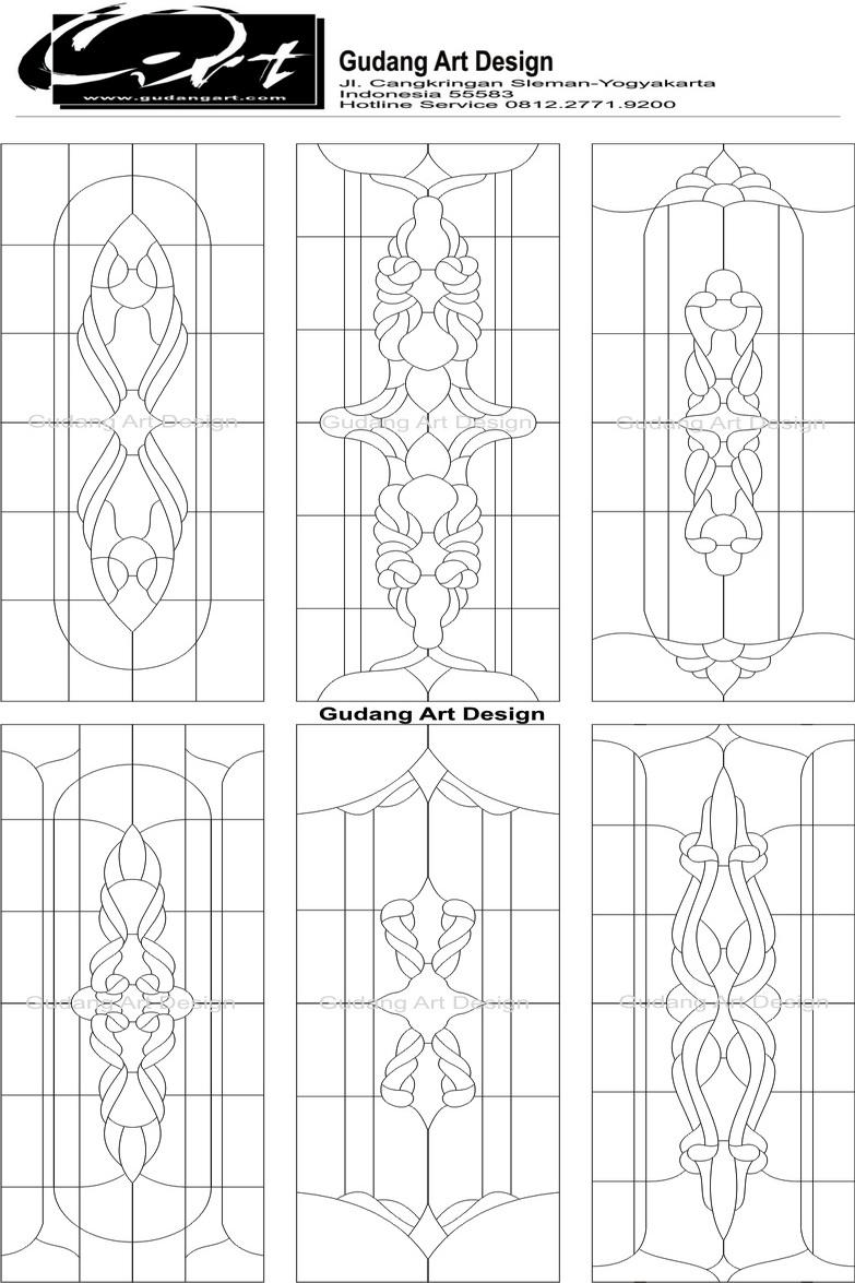 Gallery Kaca Patri Katalog Stained Glass Design Gudang