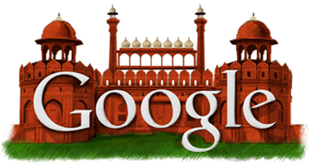 Google Doodle on Aug 15, 2011