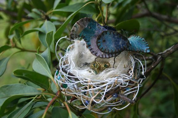 Wire Birds Nest - Carol Marion