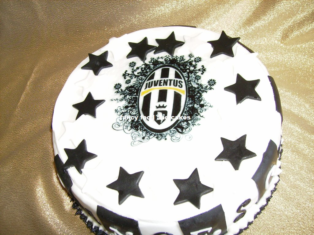 Fancy Food Cakes Torta Juventus