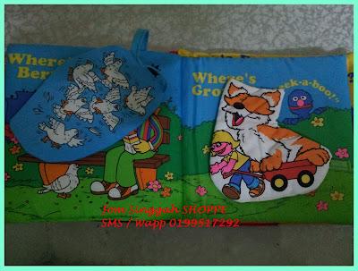 Softbook Elmo - Muka surat 5 & 6