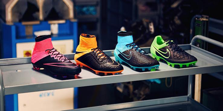 Nueva línea de botines Nike