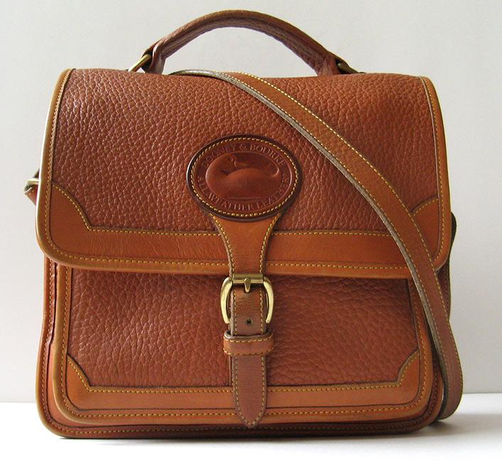 Closet dooney and bourke brown chloe vintage crossbody messenger bag