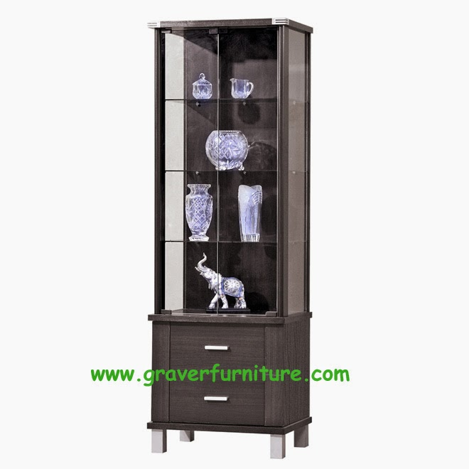 Lemari Display LH 2860 Graver Furniture
