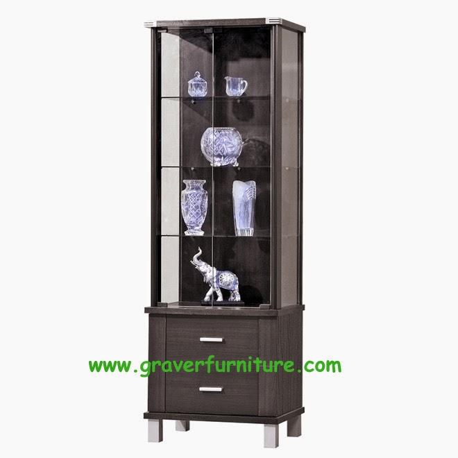 Lemari Display LH 2860 Graver Furniture