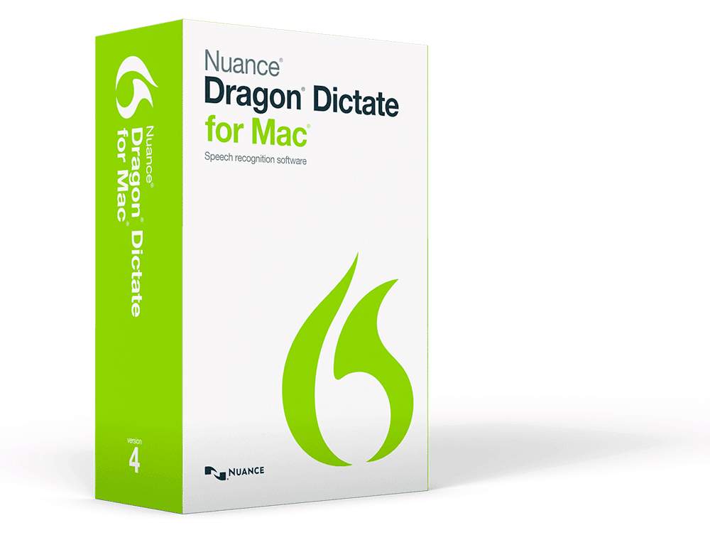 Dragon Dictate Mac 4 Image