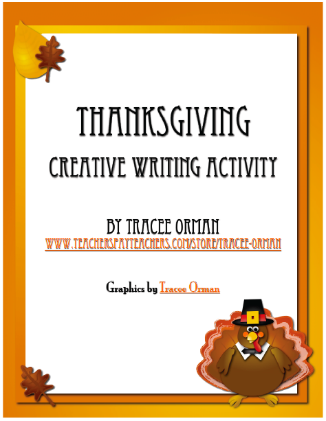 thanksgiving creative writing freebie