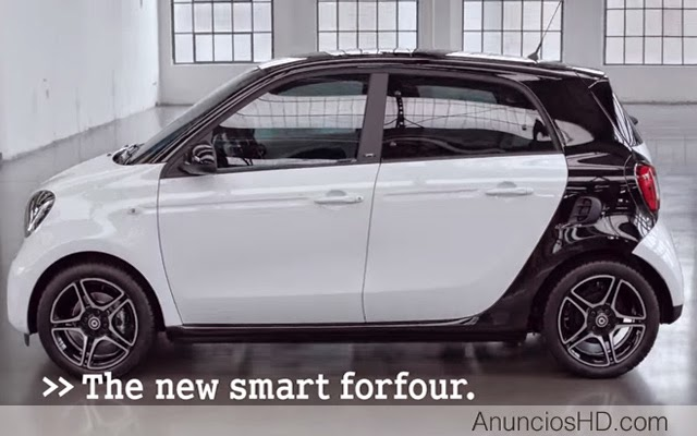 canci n anuncio smart forfour m s ideas por cm