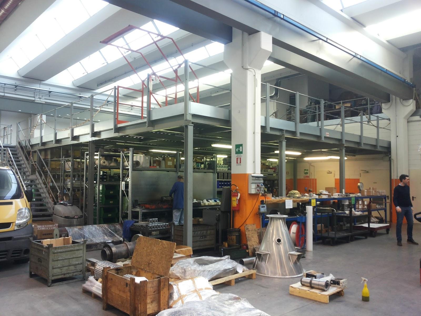 Soppalchi industriali per magazzino soppalchi nuovi e usati for Ferro usato al kg