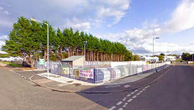Elgin's fantastic new recycling centre where Huw ended up