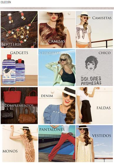 tienda online Dolores Promesas