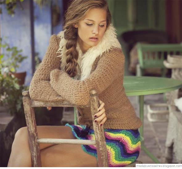 De las Bolivianas tejidos artesanales.